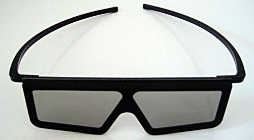 Contoh Kacamata 3D dengan Linear Polarized