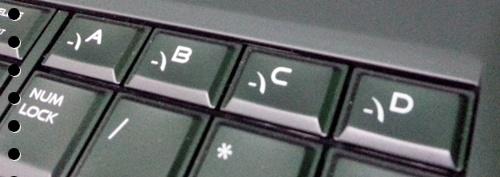 4 Macro Key yang bisa diprogram pada M17X-R5