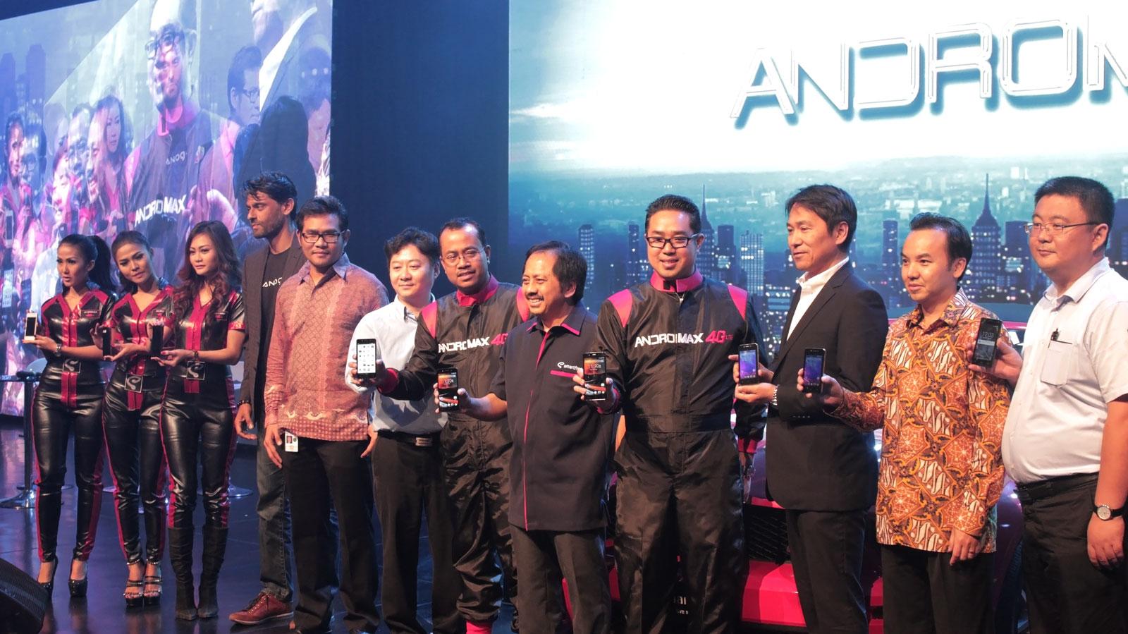 Smartfren Launching Andromax 4G LTE
