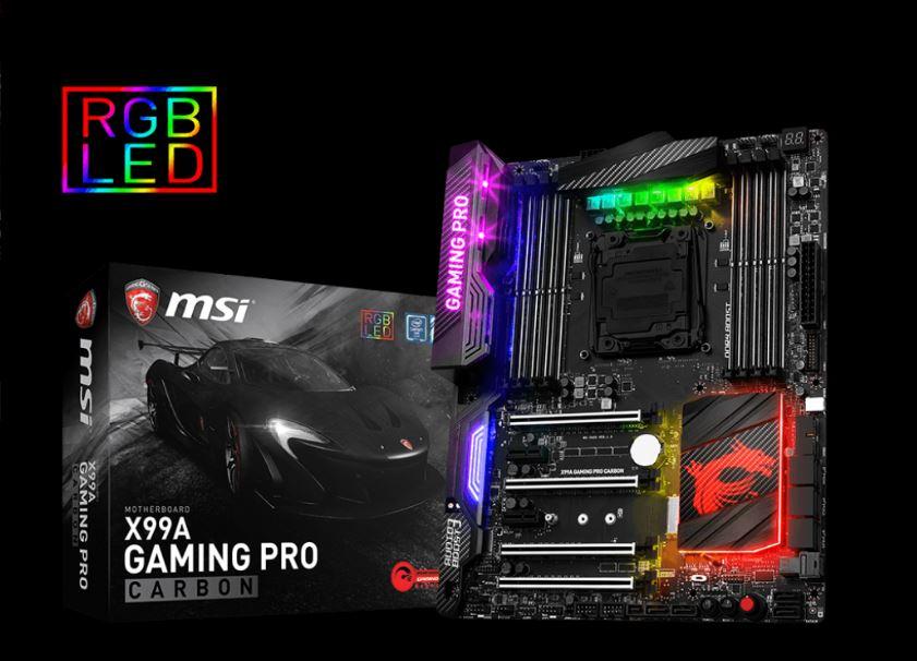MSI X99 Gaming Pro Carbon