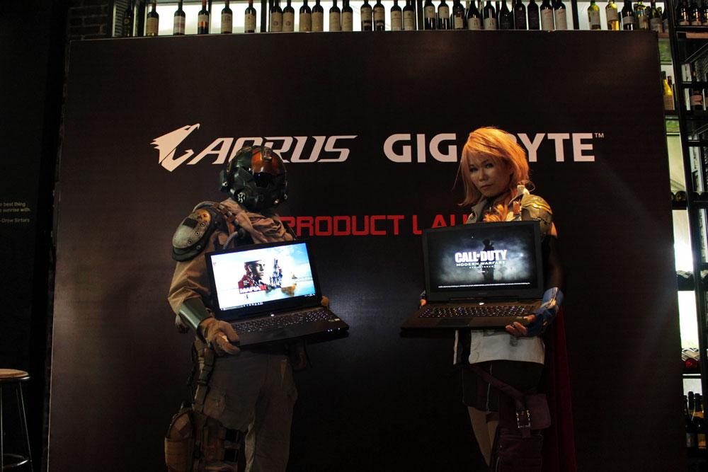Gandeng Synnex Metrodata, Gigabyte Luncurkan Laptop Gaming