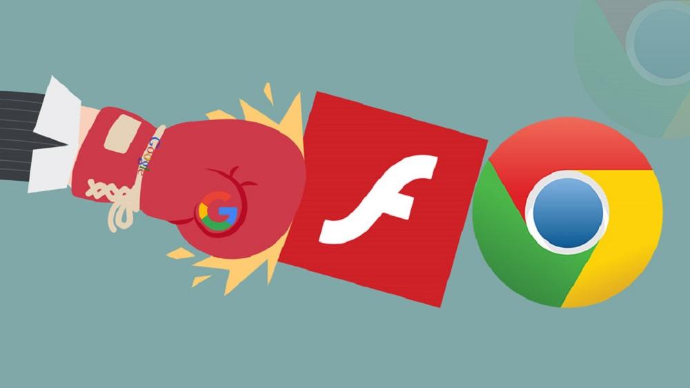 Chrome block flash