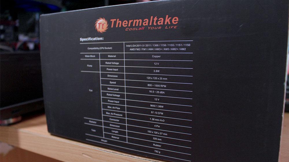 Review Thermaltake Water 3.0 X120 - Sales Package 3