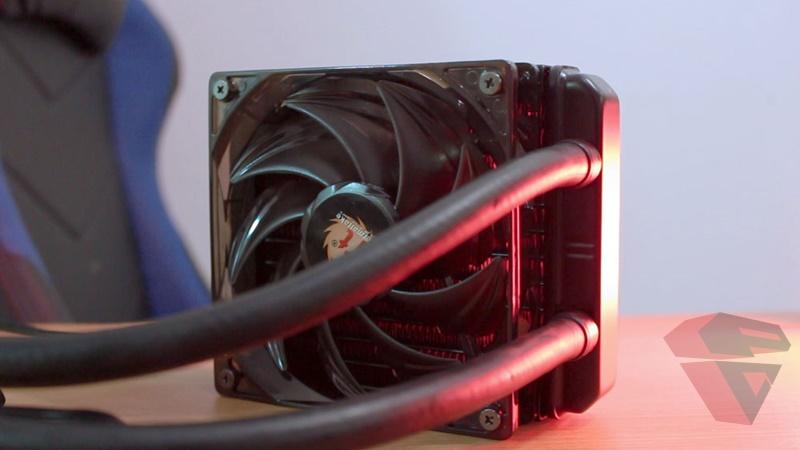 Review Thermaltake Water 3.0 X120 - Fan 2
