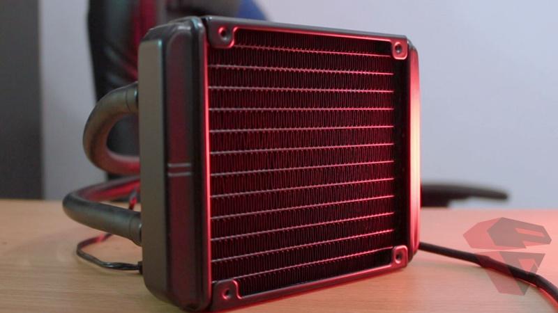 Review Thermaltake Water 3.0 X120 - Radiator