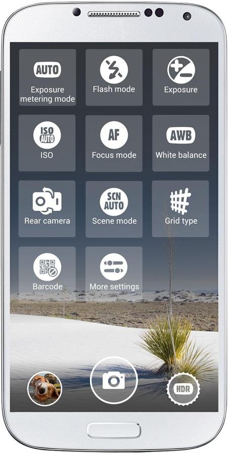 A better camera setting control aplication