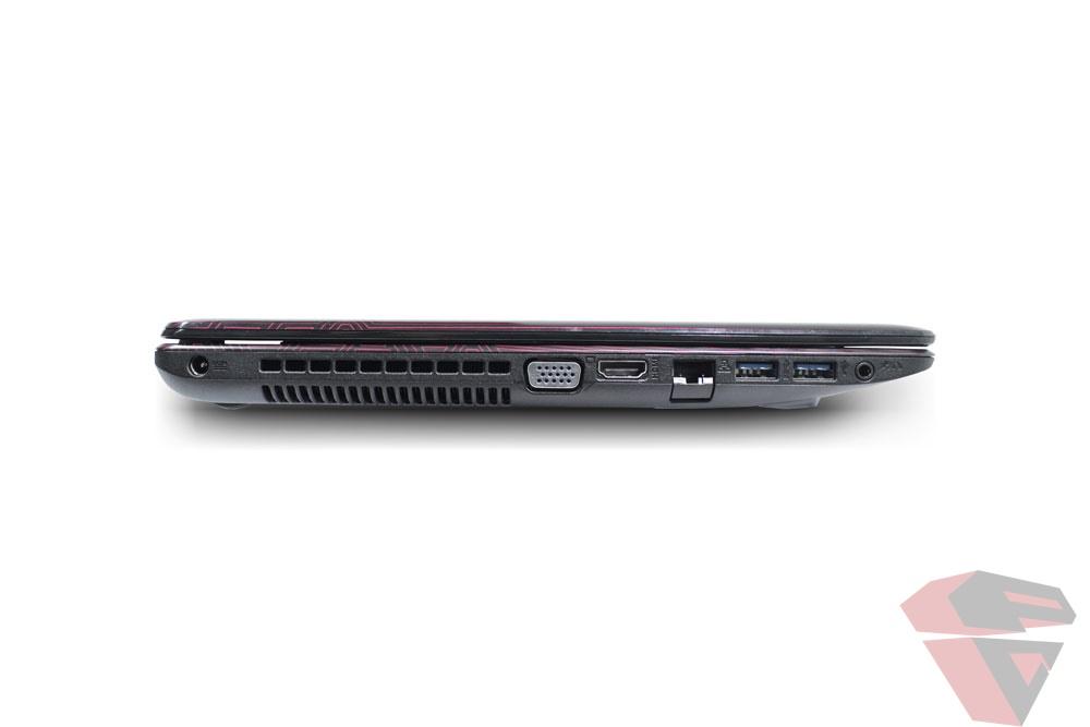 Asus X550VX port & connectivity 3