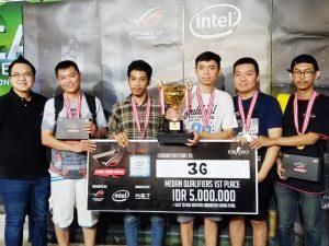 Tim 3G juara Asus ROG Master Medan