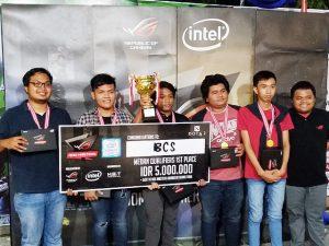Tim BCS juara Asus ROG Master Medan