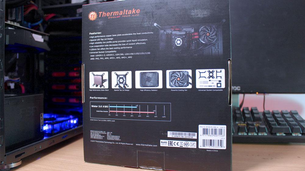 Review Thermaltake Water 3.0 X120 - Sales Package 2