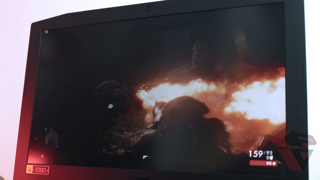 Review Acer Nitro 5 - Display Quality 2