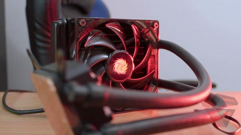 Review Thermaltake Water 3.0 X120 - Fan