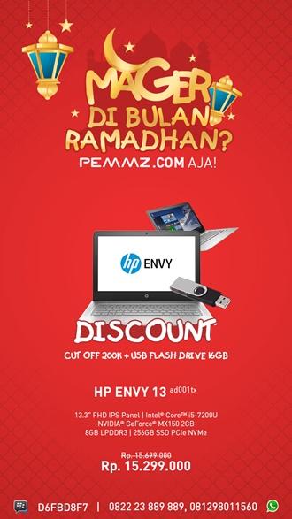 Promo Mager Ramadhan HP Envy 13 ad001tx