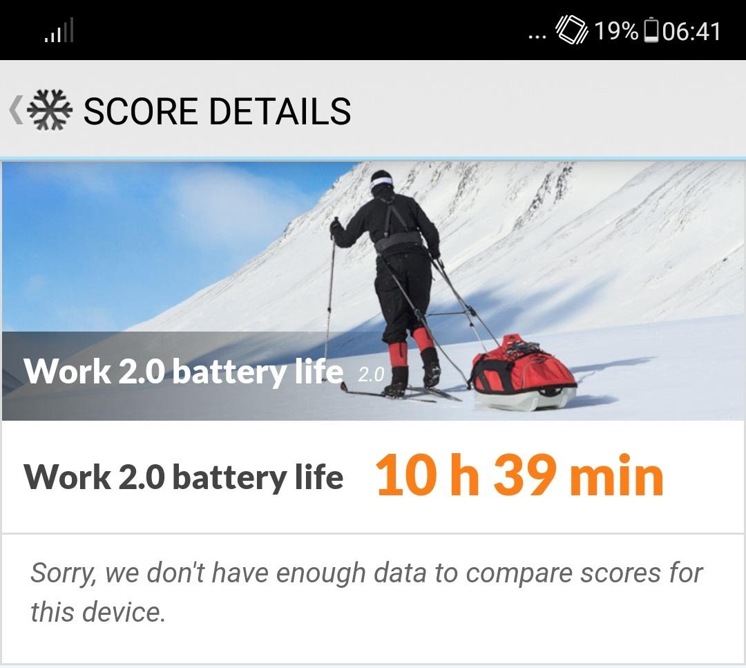 Review Asus Zenfone 5 ZE620KL battery test