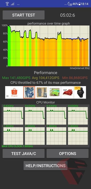 Review Asus Zenfone 5 ZE620KL Stres Test