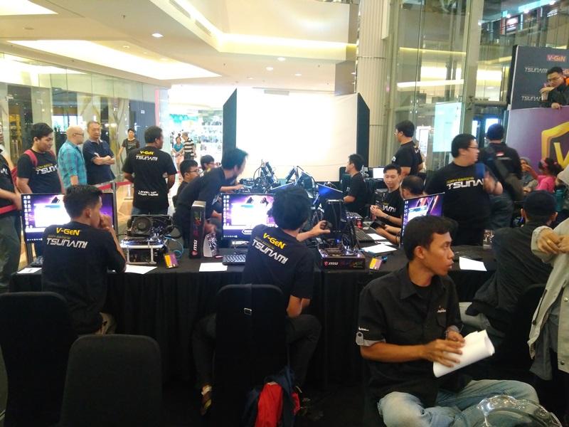 VGeN Tsunami eSports League Overclock