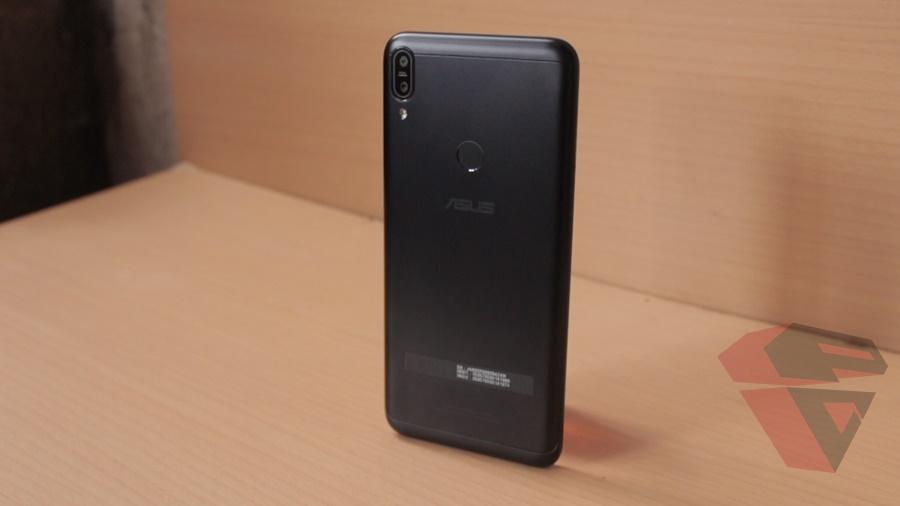 review Zenfone Max Pro M1 - Design - Back Cover