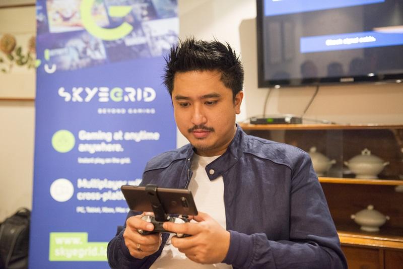 Uji coba Layanan Game Streaming Skyegrid