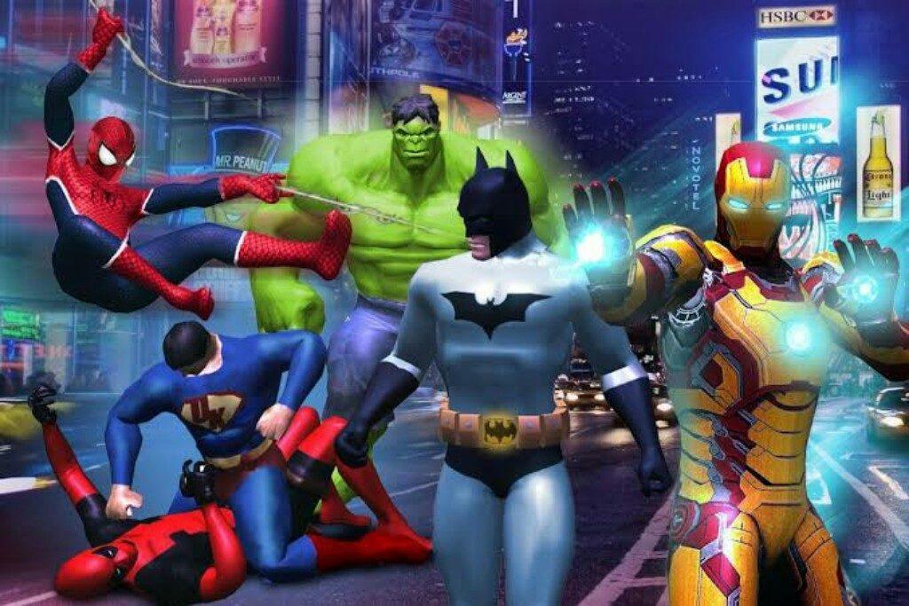 Game Superhero Paling Terkenal Dijamin Seru