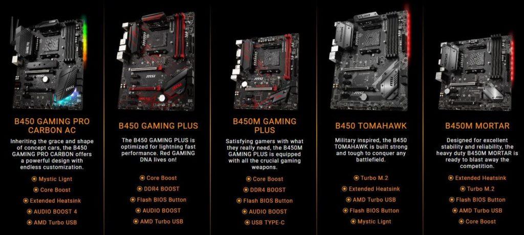 MSI rilis versi revisi AMD B450   Pemmzchannel
