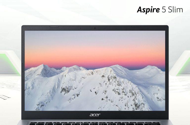 Tampilan Layar Acer Aspire Slim 5