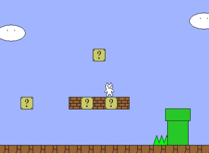 Meski unik, Ccat Mario termasuk game PC tersulit