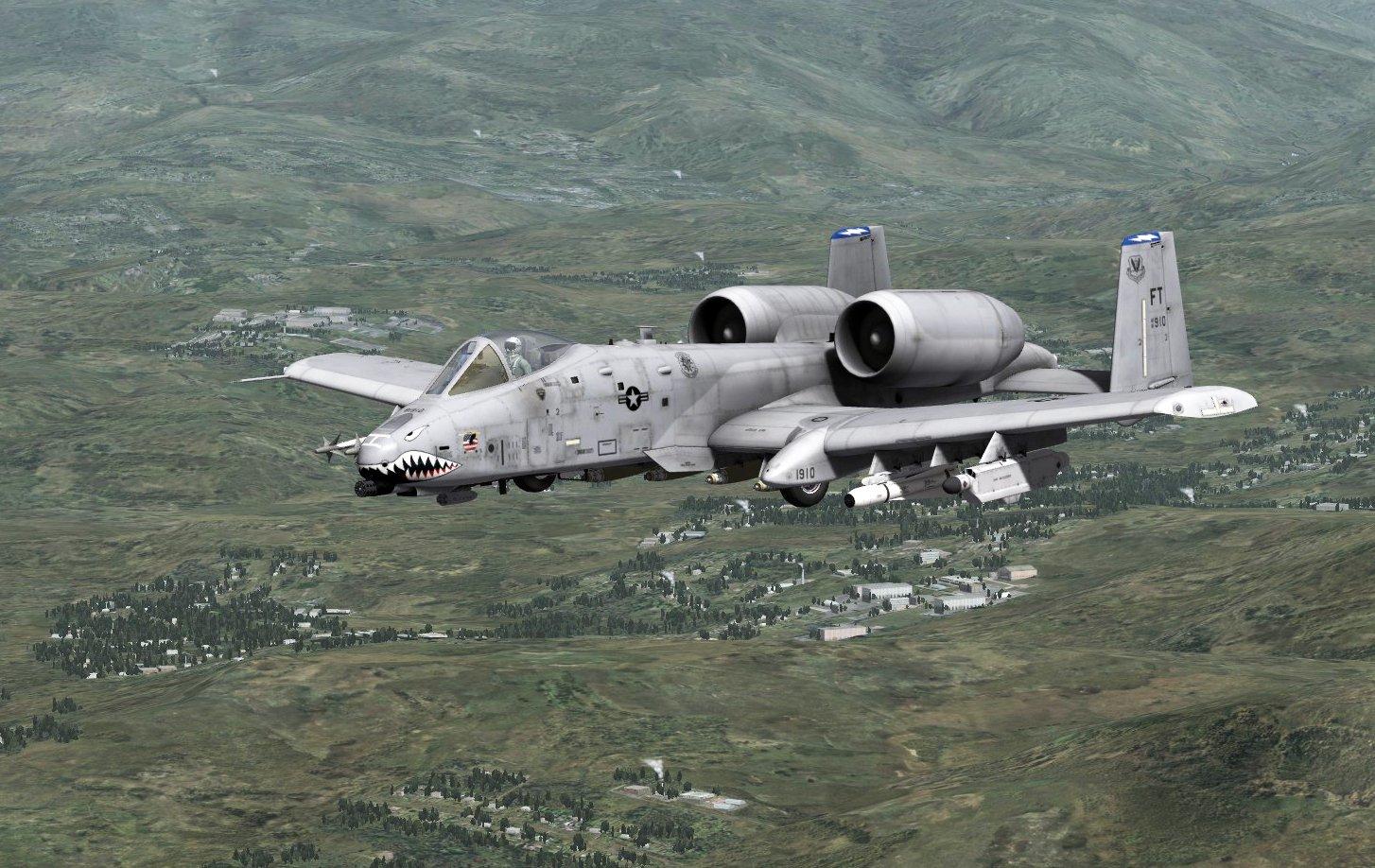 Bermain simulator pesawat di game Steam gratis DCS World