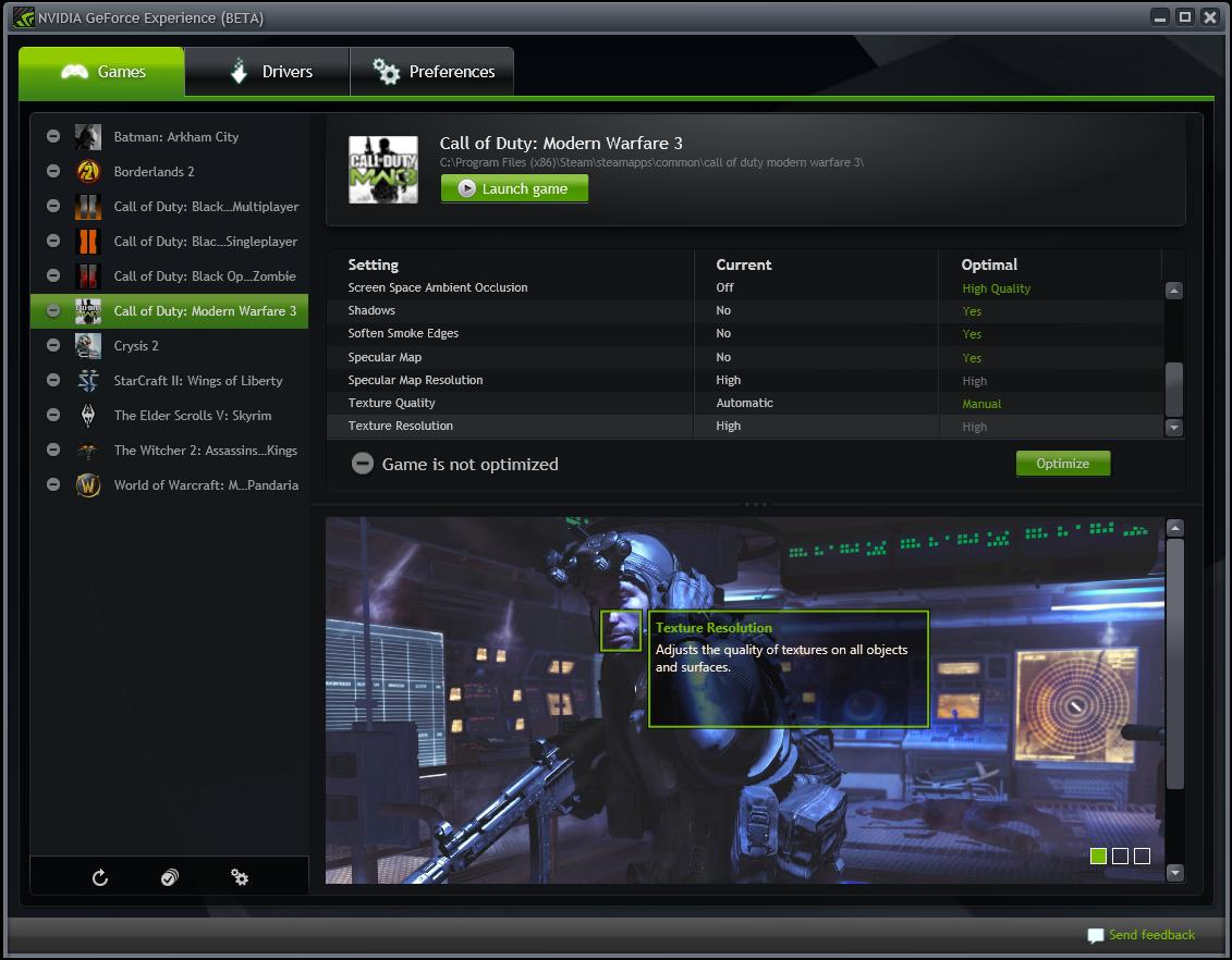 GeForce Experience, rekam game terbaik di PC