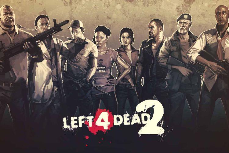 Berburu zombie di Left 4 Dead 2