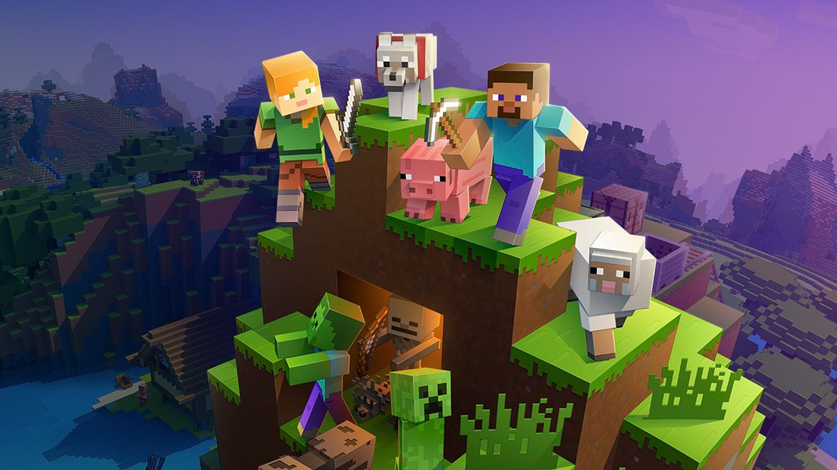 Minecraft, game PC ringan yang sangat populer