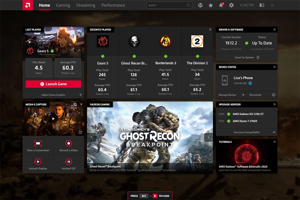 Radeon Software, aplikasi rekam game terbaik dari AMD