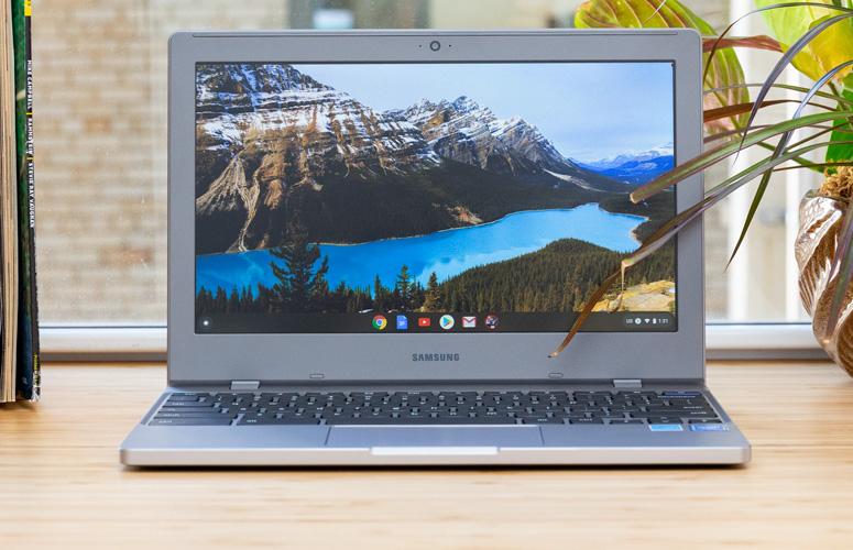 Samsung Chromebook 4 dilengkapi dengan berbagai fitur yang mendukung kegiatan belajar mengajar