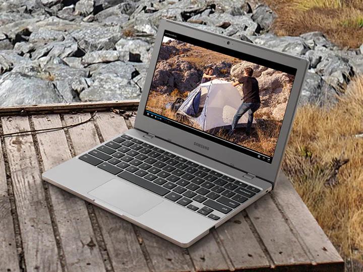 Samsung Chromebook 4 memiliki ketahanan yang tinggi dibanding laptop lainnya