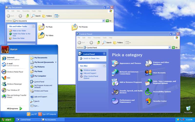 Windows XP merupakan OS yang paling populer