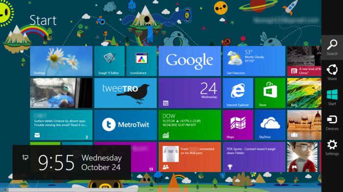 Sejarah Microsoft Windows berlanjut ke Windows 8 dan 8.1
