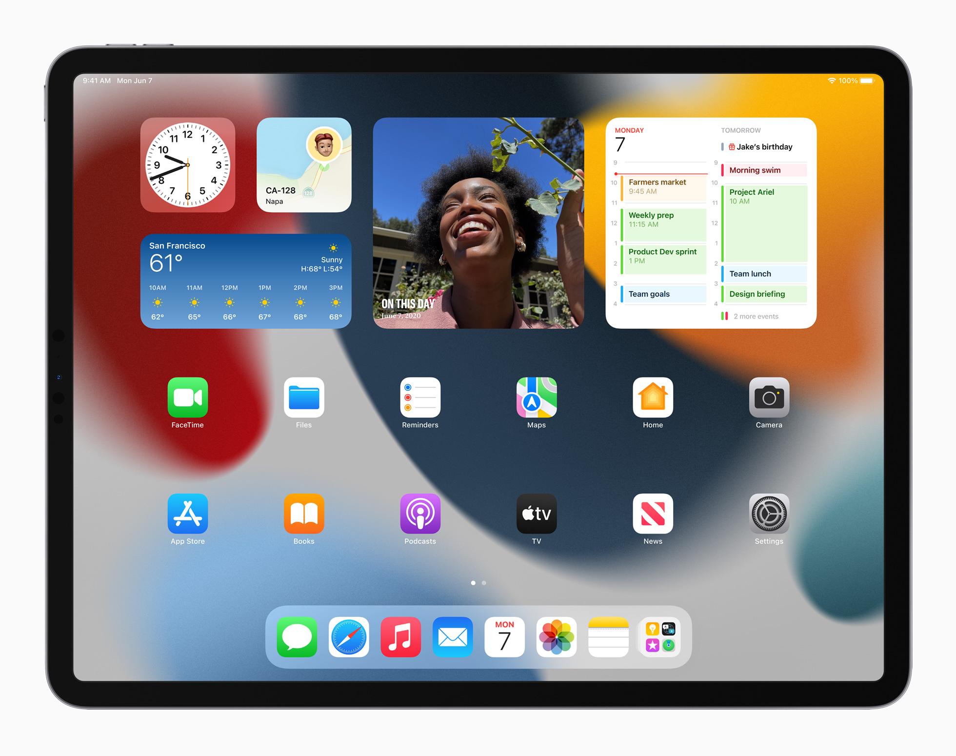 Widget dihadirkan sebagai fitur baru iPadOS 15