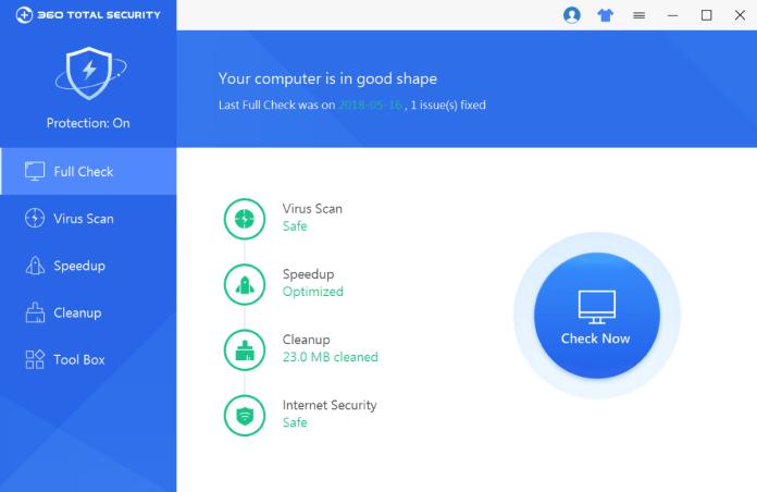 360 Total Security, aplikasi antivirus gratis