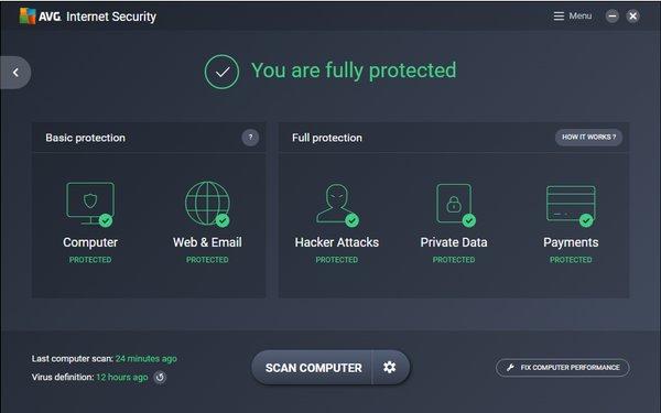 AVG Ultimate, aplikasi antivirus terbaik 2021