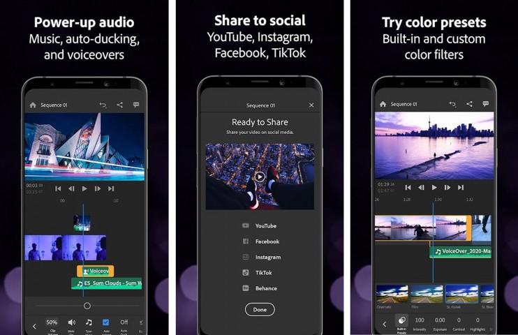 Adobe Premiere Rush, aplikasi edit video di HP