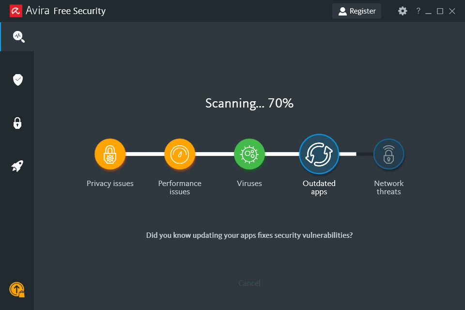 Avira, aplikasi antivirus gratis