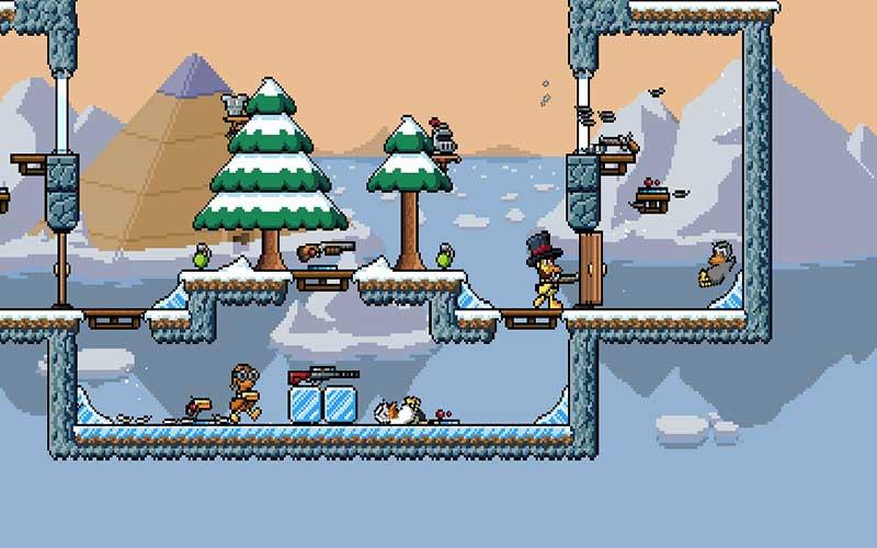 Duck Game - game PC multiplayer terbaik