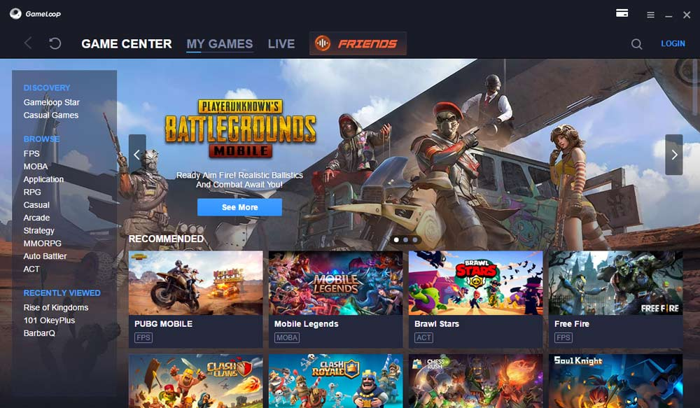 Gameloop, emulator Android ringan 2021