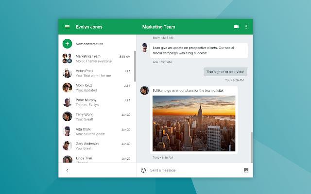 Google Hangouts, aplikasi meeting online gratis