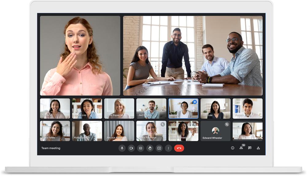 Google Meet, aplikasi meeting online gratis
