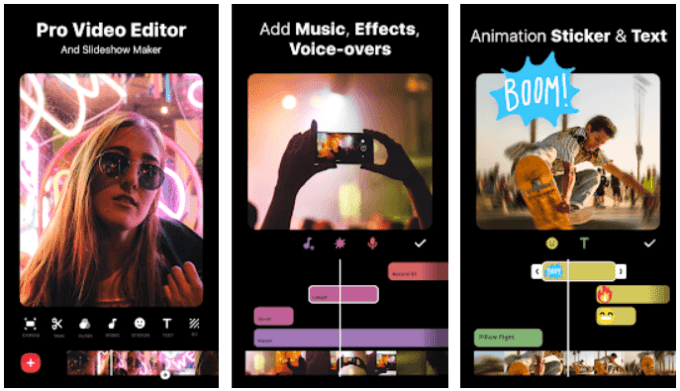 InShot aplikasi edit video di HP