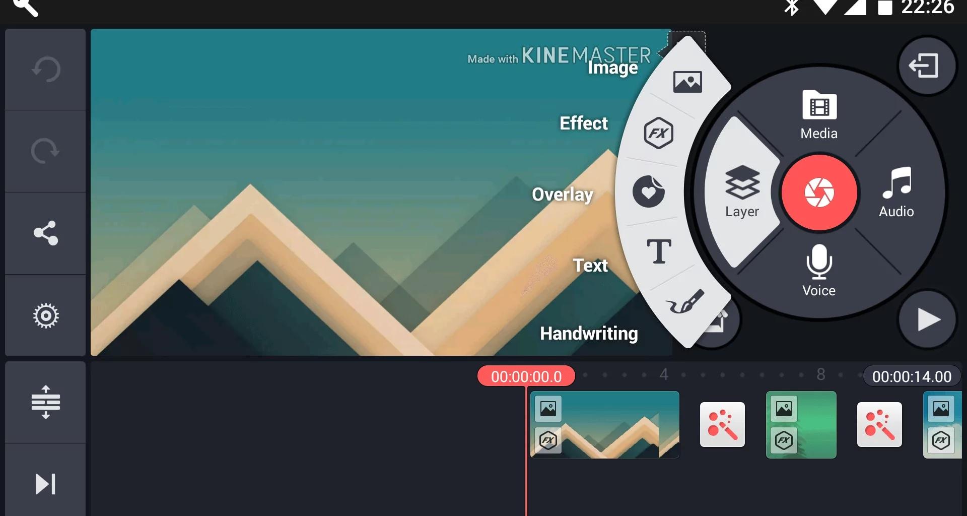 KineMaster, aplikasi edit video di HP