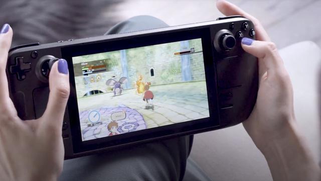 Main game di konsol portable Steam Deck