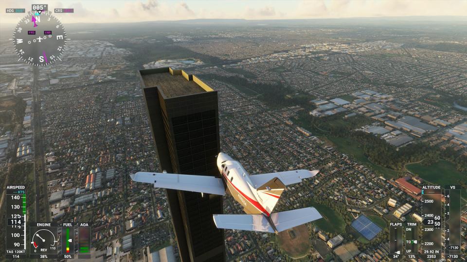 Ms. Flight Simulator, game baru Juli 2021