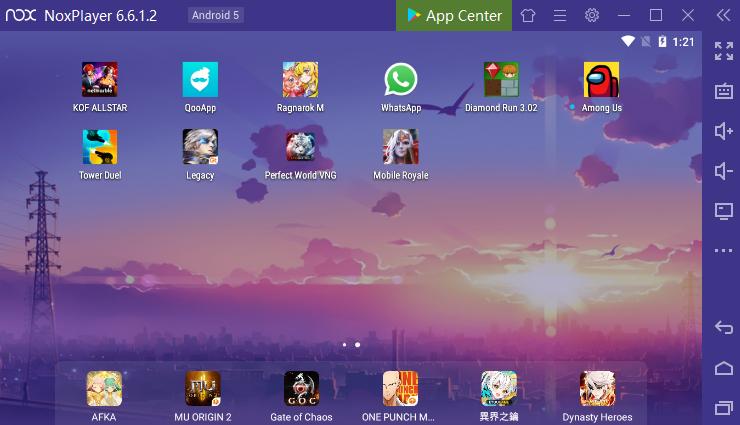 Nox Player,emulator Android ringan 2021
