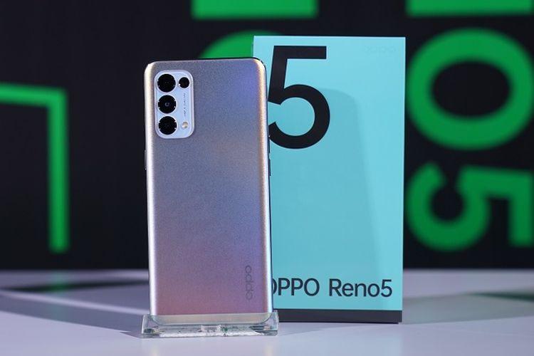 Oppo Reno 5, HP NFC murah 2021